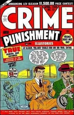 Crime and Punishment 13-A by Lev Gleason Productions