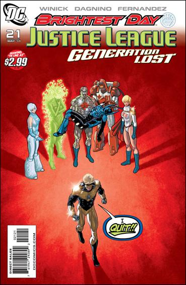 Justice League: Generation Lost 21-B by DC