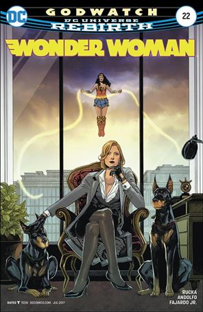 Wonder Woman (2016)  22-A