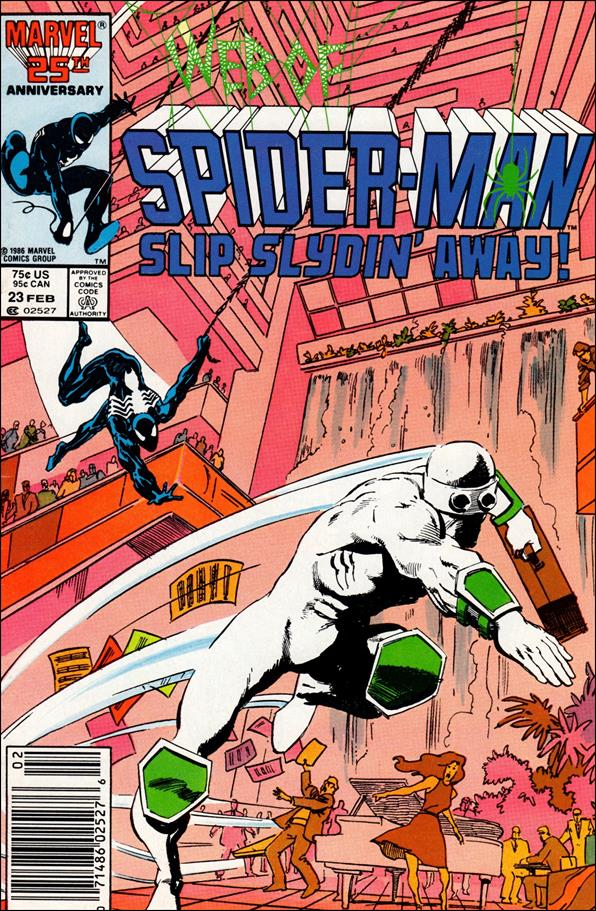 Web of Spider-Man (1985) 23-A by Marvel