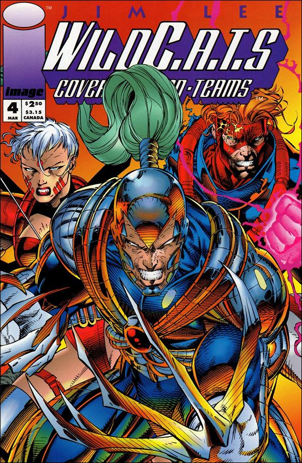 WildC.A.T.s: Covert Action Teams 4-B by Image