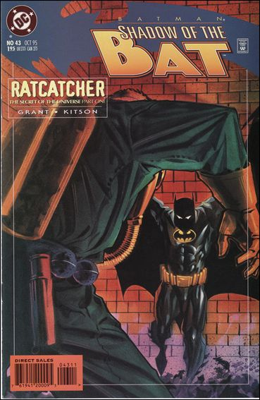 Batman: Shadow of the Bat 43-A by DC