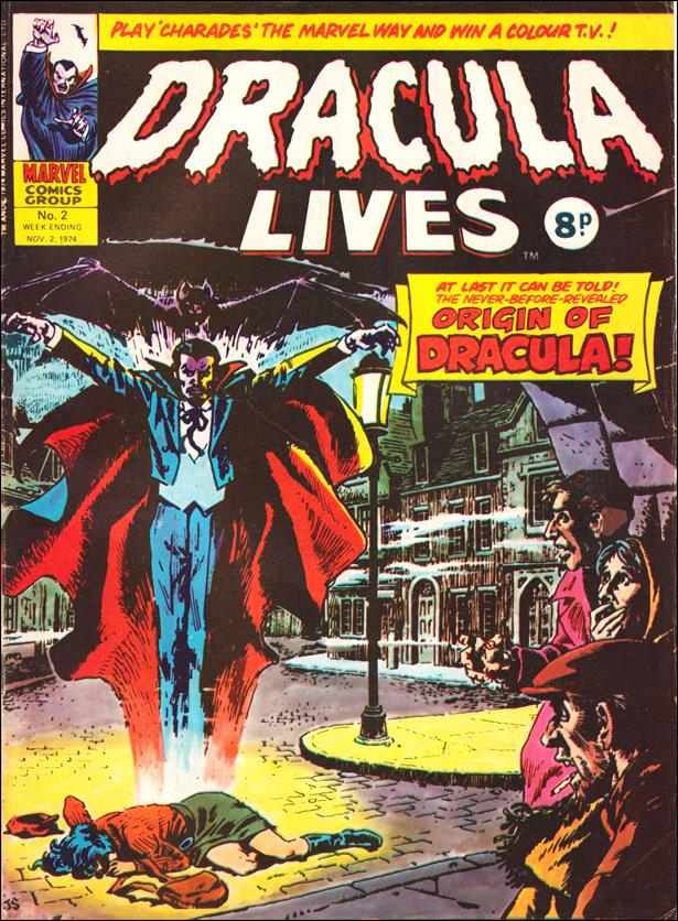 Dracula Lives (UK) 2-A by Marvel UK