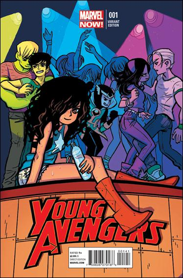 Young Avengers (2013) 1-B by Marvel