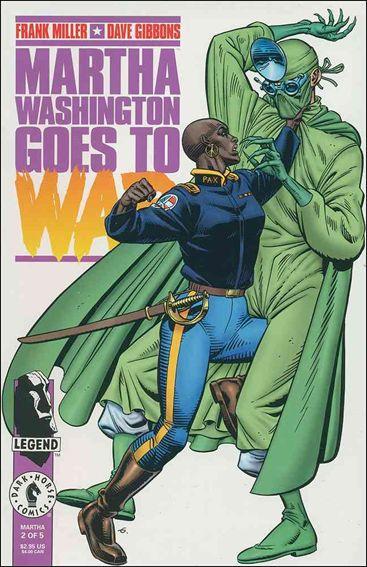 Martha Washington Goes to War 2-A by Dark Horse