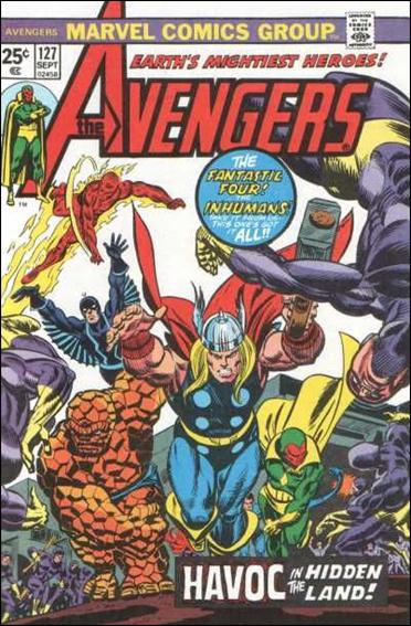 Avengers (1963) 127-A by Marvel