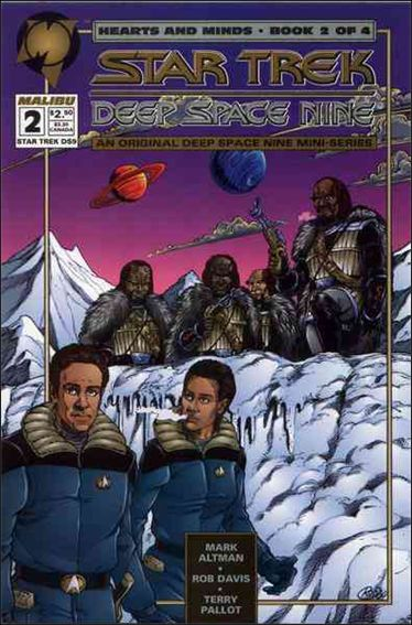 Star Trek: Deep Space Nine Hearts and Minds 2-A by Malibu