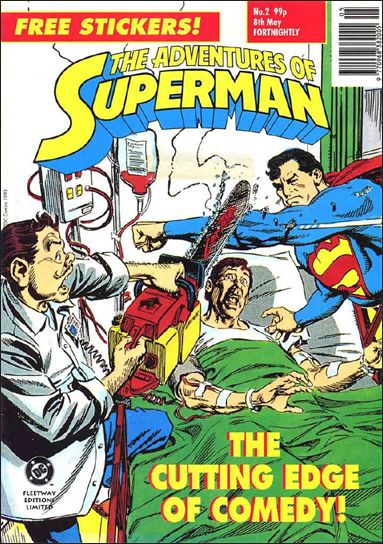 Adventures of Superman (UK) 2-A by DC