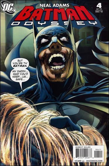Batman: Odyssey (2010) 4-A by DC