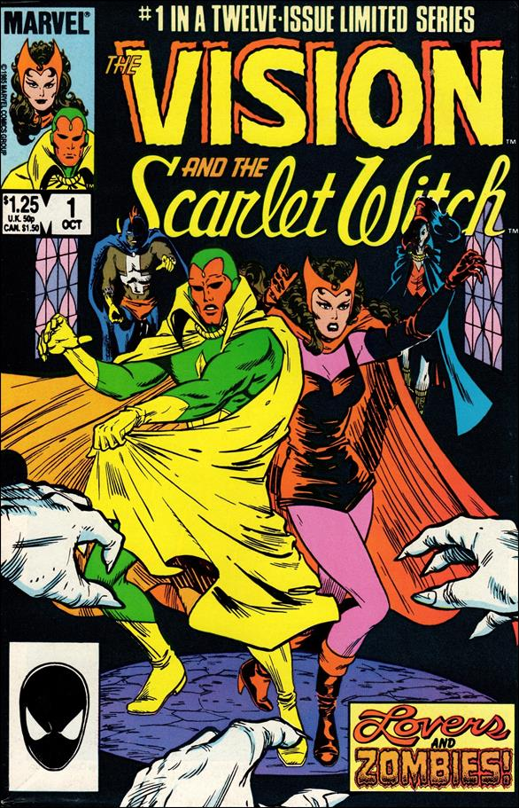 Vision and the Scarlet Witch (1985) 1-A by Marvel