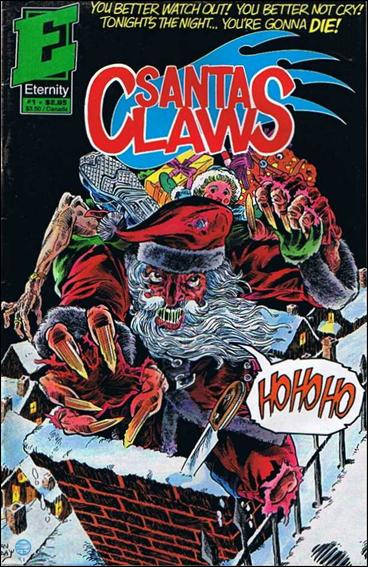 Santa Claws (1991) 1-A by Eternity