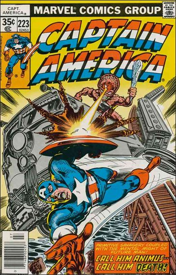 Captain America (1968) 223-A by Marvel