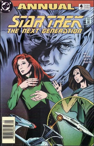 Star Trek: The Next Generation Annual 4-A by DC