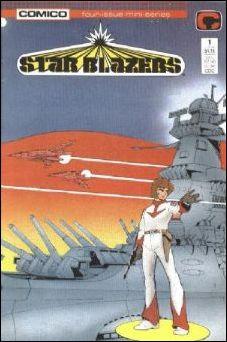 Star Blazers (1987) 1-A by Comico