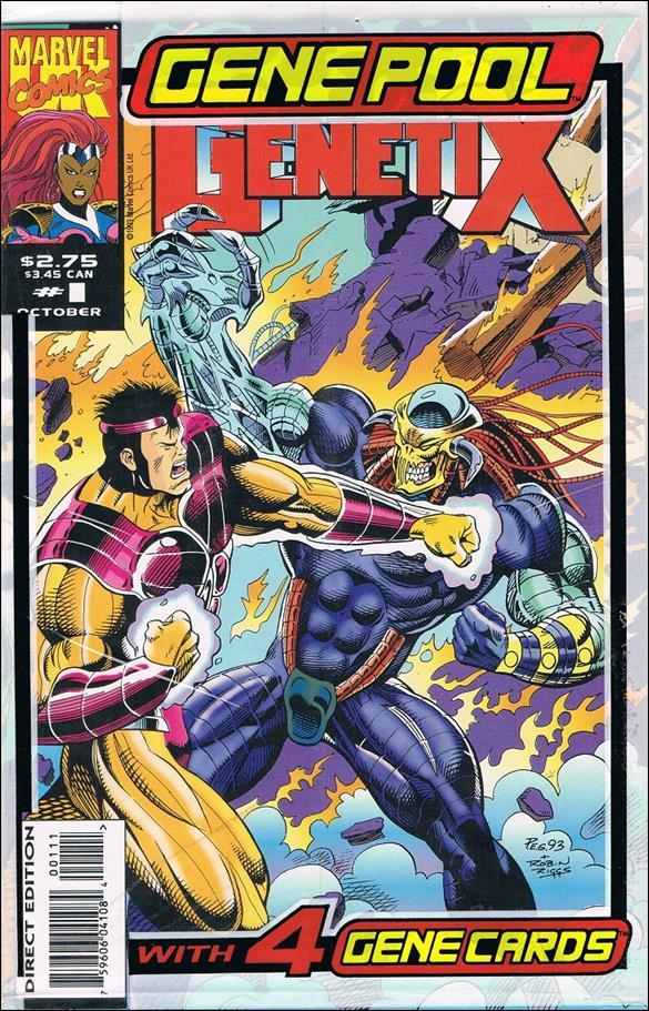 Genetix (UK) 1-A by Marvel UK