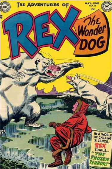 Adventures of Rex the Wonder Dog 15-A by DC