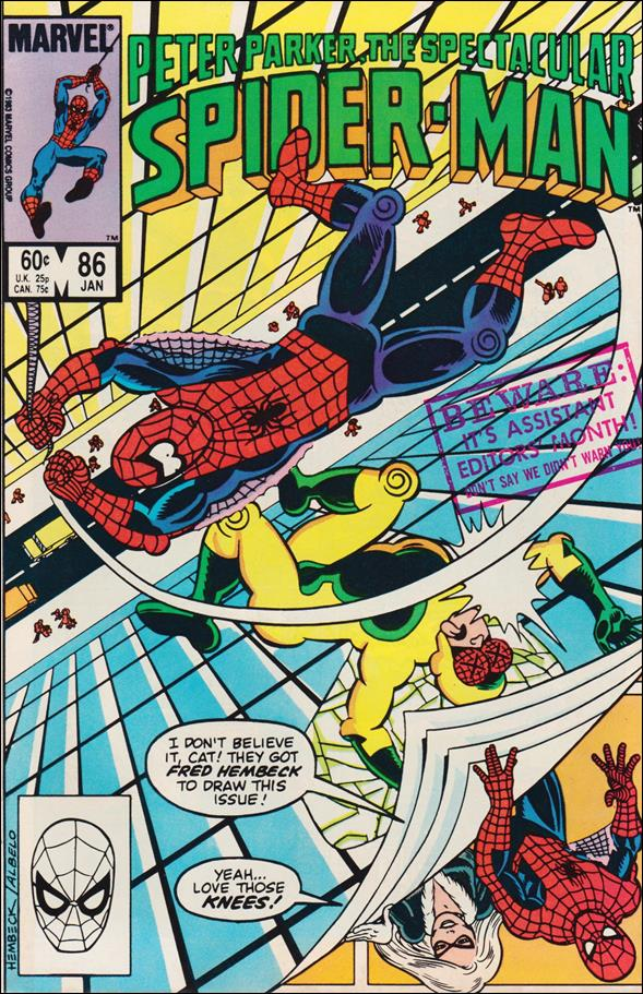 Spectacular Spider-Man (1976) 86-A by Marvel