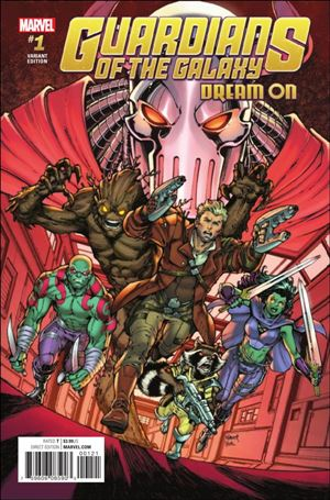 Guardians of the Galaxy: Dream On 1-B