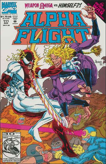 Alpha Flight (1983) 111-A by Marvel