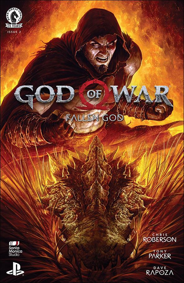 God of War: Fallen God 2-A by Dark Horse