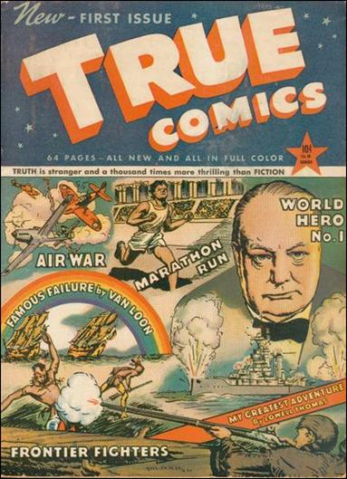 True Comics 1-A by Parents' Magazine Institute