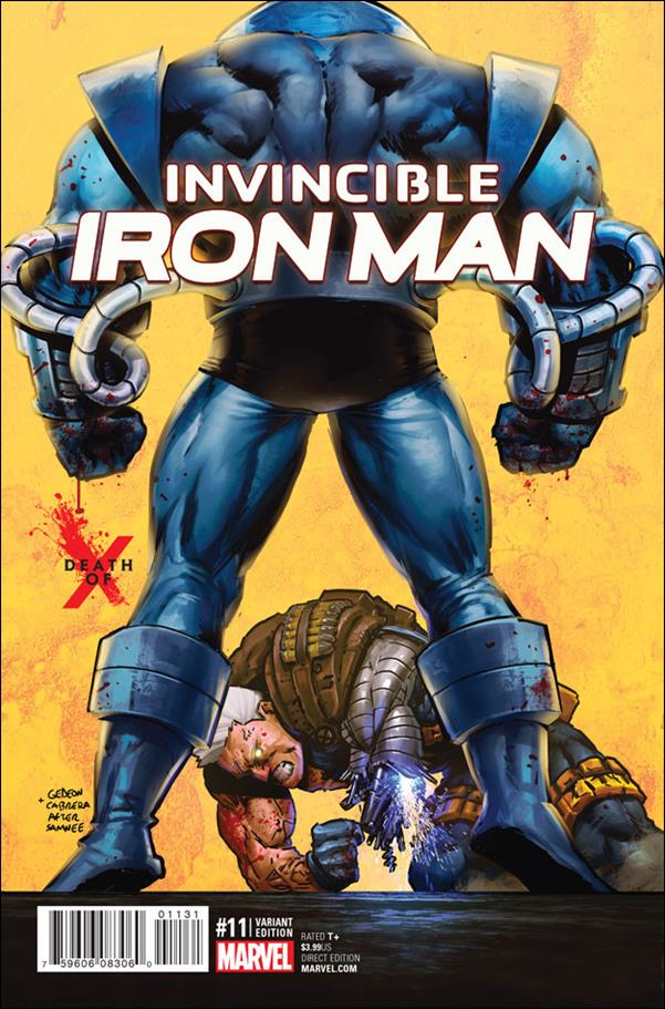 Invincible Iron Man (2015)  11-B by Marvel