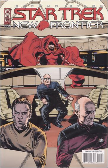Star Trek: New Frontier 1-C by IDW