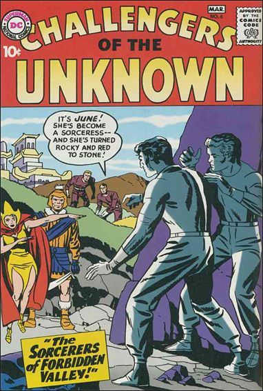 Challengers of the Unknown (1958) 6-A by DC