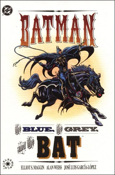 Batman: The Blue, The Grey, and the Bat 1-A by DC