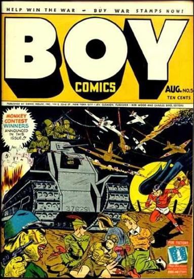 Boy Comics 5-A by Lev Gleason Productions