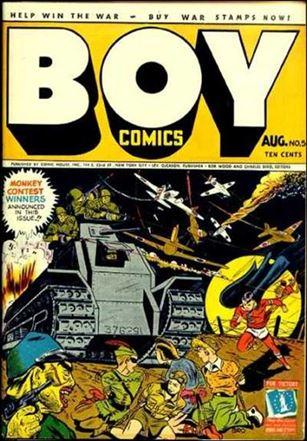 Boy Comics 5-A