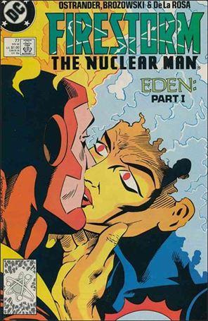 Firestorm The Nuclear Man (1987) 77-A