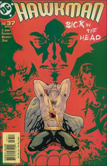 Hawkman (2002) 37-A by DC