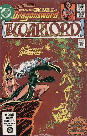 Warlord (1976) 53-A by DC