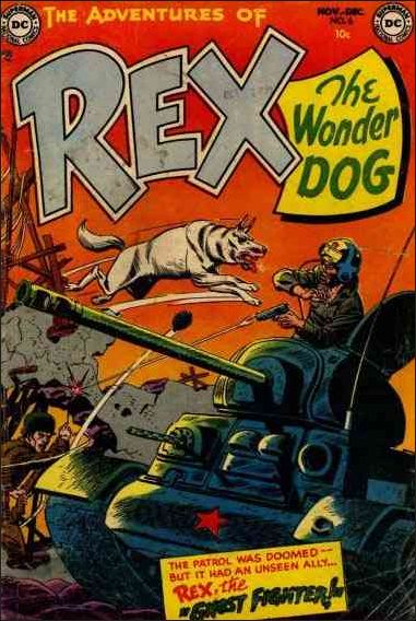 Adventures of Rex the Wonder Dog 6-A by DC