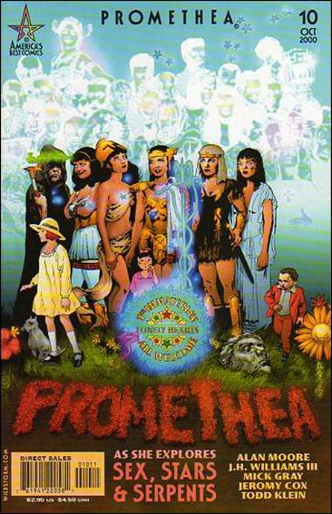 Promethea 10-A by America's Best Comics