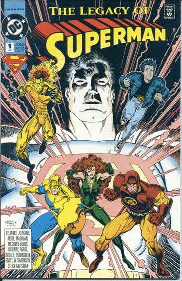 Superman: The Legacy of Superman 1-A by DC