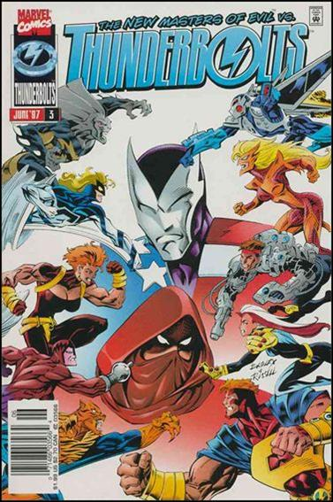 Thunderbolts (1997) 3-B by Marvel