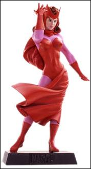 Classic Marvel Figurine Collection (UK) Scarlet Witch by Eaglemoss Publications