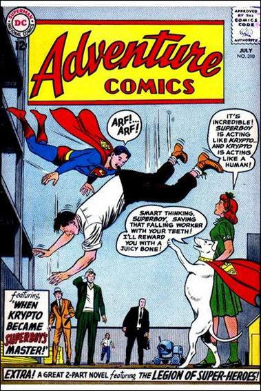 Adventure Comics (1938) 310-A by DC