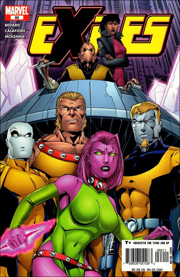 Exiles (2001) 66-A by Marvel