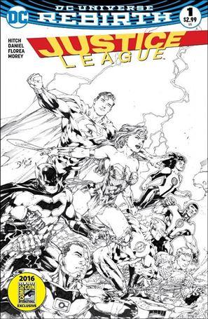 Justice League (2016) 1-J