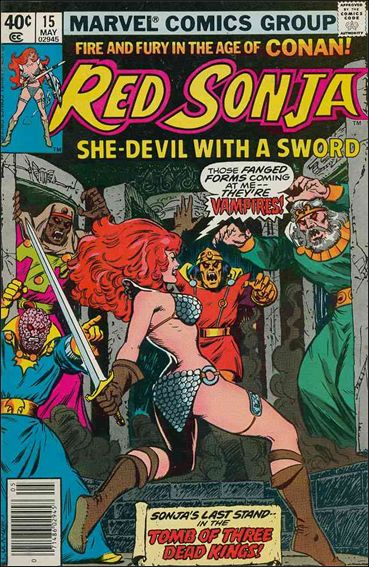 Red Sonja (1977) 15-A by Marvel