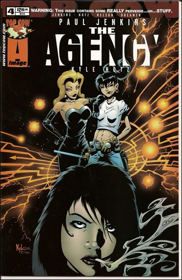 Agency 4-A by Top Cow