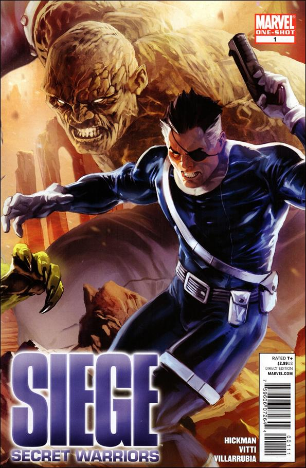 Siege: Secret Warriors 1-A by Marvel
