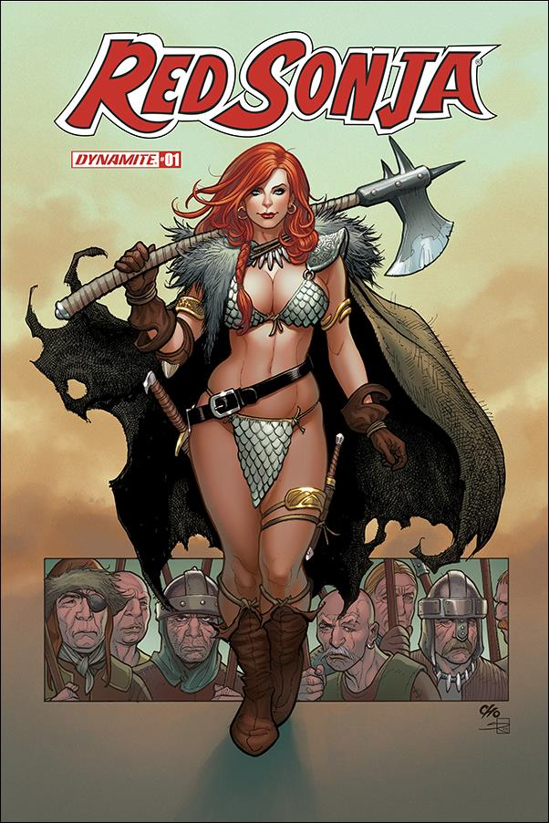Red Sonja (2019) 1-D by Dynamite Entertainment
