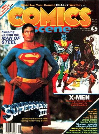 Comics Scene (1982) 11-A by Starlog