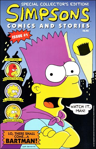 Simpsons Comics and Stories 1-B by Welsh Publishing Group