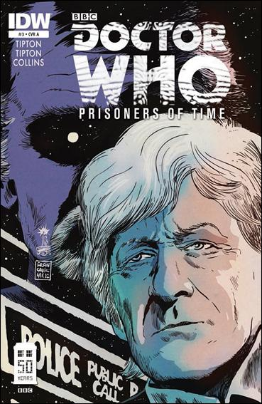 Doctor Who: Prisoners Of Time  3-A by IDW