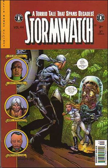 StormWatch (1993) 44-A by Image